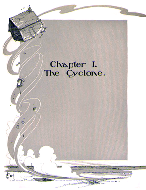 Chapter 1 The Cyclone. Due to Kansa's location at a climatic boundary prone to multiple air masses, the state is vulnerable to severe thunderstorms which can spawn cyclones, averaging over 50 annually.